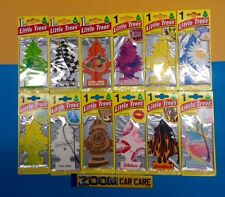 12 x Little Tree/Magic Tree Hanging 2D Air Freshener Freshner Car Home Assorted