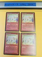 4x Dwarven Pony | Homelands | MTG Magic The Gathering Cards
