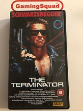 The Terminator VHS Video Retro, Supplied by Gaming Squad