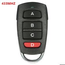 4 Buttons Copia 433mhz Elettrico Telecomando Garage Portachiavi Universale