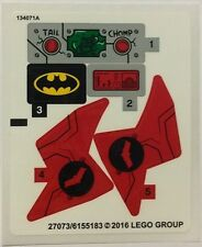 LEGO 76055 - Batman: Killer Croc Sewer Smash - STICKER SHEET