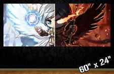 """HUGE 60""""x24"""" MAPLESTORY *new* collectible poster wall art gamer maple story r/b"""