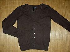 H&M Damen-Pullover & -Strickware aus Baumwollmischung mit V-Ausschnitt