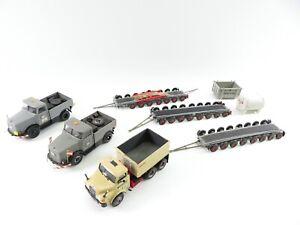 Preiser Kibri 1:87 Schwertransport LKW Konvolut Eigenbau #2989