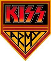 KISS Army Band Iron On T Shirt Fabric Transfer #1