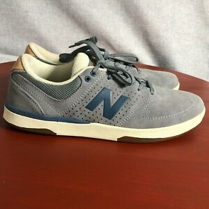 New Balance 533 Men's Size 8.5 Shoes Blue Brown Suede Athletic Low Top Sneakers