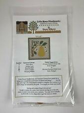 Little House Needleworks Cross Stitch Kit PEAR Chart & Threads