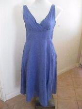 Ladies Blue CAPTURE Sleeveless Dress Size 10 - BRAND NEW