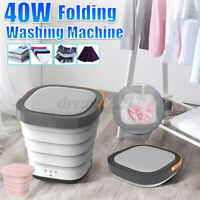 Folding Mini Washing Machine Laundry Basic Automatic Clothes Washing Machine UK