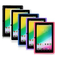 "iRULU Multi-Color 7"" Google GMS Android 6.0 Quad Core Dual Cameras 8GB Tablet PC"