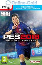 PES 2018 Pro Evolution Soccer - Edición Premium - PC Steam Juego clave EU/ES