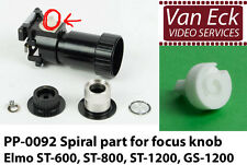 Elmo ST-600, ST-800, GS-800, ST-1200, GS-1200, spiral part for focus (PP-0092)