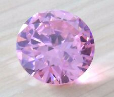 6mm Unheated 1.49ct AAAAA Pale Pink Sapphire Diamonds Cut Round VVS Loose Gems