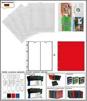 10 LOOK 312944 MÜNZHÜLLEN NUMOH NH-2VC 2x  210x81mm + ZWL-R Für Münzfolder