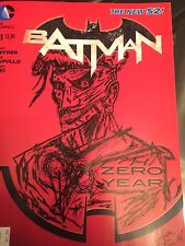 BATMAN #21 2nd Print Variant JOKER sketch Cover