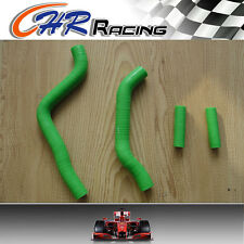 FOR KAWASAKI KX125 KX 125 05 06 07 2005 2006 2007 SILICONE RADIATOR HOSE GREEN