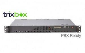 Asterisk FreePBX FPBX60 Supermicro 1U Rack C512 2GB 250GB SIP VoIP IP PBX
