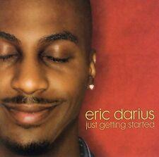 ERIC DARIUS - Just Getting Started, Euge Groove, Paul Brown, Rare CD