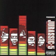 Feedback [PA] by Jurassic 5 (CD, Jul-2006, Interscope (USA)) BMG D168589 NEW
