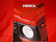 DATSUN Patrol Hardtop + Station Wagon Prospekt von 1983