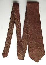 SPLENDID TERILENE paisley cravatta vintage 1960 S Abiti Da Uomo alkit RAF Outfitters
