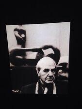 "Bill Brandt ""Henry Moore 1972"" Photography 35mm Glass Slide"