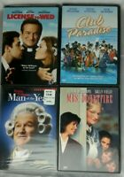 Four DVDs Movies Robin Williams Club Paradise, Mrs. Doubtfire, Man of the Year,