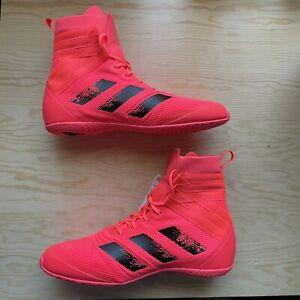 Adidas Men's Speedex 18 Boxing Shoes Signal Pink Core Black Size 10.5 FX1995