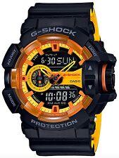 Casio G-Shock *GA400BY-1A Anadigi Sporty Yellow Orange & Black COD PayPal
