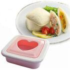 Household Love Heart Shape Sandwich Toast Bread Cake Maker Mold Cutter DIY Tool