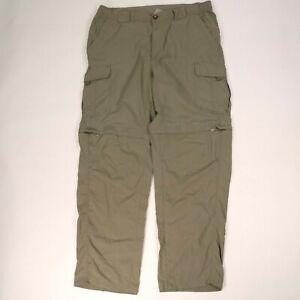 Columbia Titanium convertible Cargo pants shorts lightweight hiking Omni-Dry