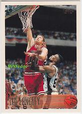 1996-97 TOPPS BASE CARD: LUC LONGLEY #164 BULLS / 1st AUSSIE TO WIN NBA FINALS