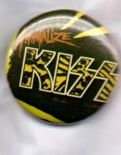 KISS Animalize BUTTON BADGE AMERICAN HARD ROCK BAND Destroyer, Dynasty 25mm Pin