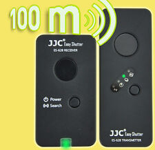 JJC 100m Funkauslöser Fernauslöser Funkfernauslöser für Canon EOS 1100D 600D...