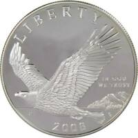 2008 P $1 Bald Eagle Recovery Commemorative Silver Dollar US Coin Choice Proof