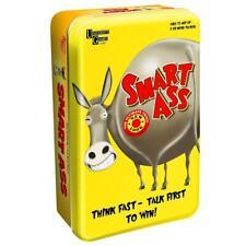 SMART ASS CARD GAME Tin Edition Board Game