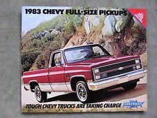 1983 Chevrolet Pickup Truck Brochure