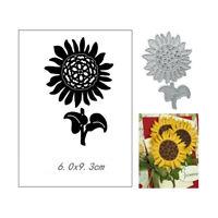 Stanzschablone Sonnenblume Weihnachten Geburtstag Hochzeit Oster Album Karte DIY