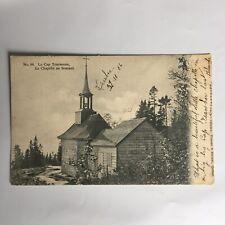 Le Cap Tourmente La Chapelle au Sommet Carte Postale Postcard