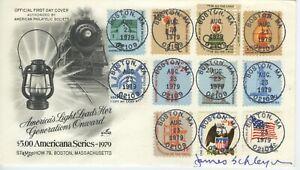 US FDC #1612 Lantern stamp Combo ArtCraft Cachet -11 stamps & Designer Sign