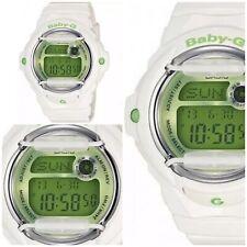Casio Baby-G White Green Face Digital Watch BG169R-7C NWT