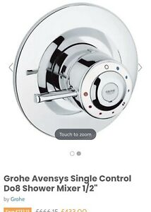 Grohe Avensys Single Control Do8 Shower Mixer Retails £300+ Thermostatic Shower