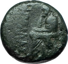 KOLOPHON in IONIA 50BC Poet Homer of ODYSSEY Apollo Ancient Greek Coin i66151