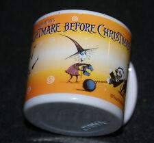 RARE NIGHTMARE BEFORE CHRISTMAS MINI PLASTIC CUP VINTAGE 1993 LOCK SHOCK BARREL