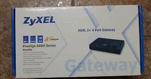 Zyxel Prestige 660H Series ADSL 2+4 Gateway