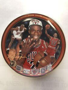 "Michael Jordan Plate ""1993 NBA Championship"" Upper Deck Bradford Exchange Lim Ed"