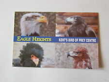 Eagle Heights Eynsford Kent, Birds of Prey Centre Postcard
