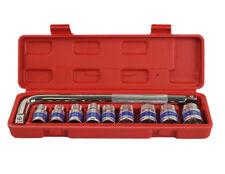 8-22mm 10pcs 1/2in DRIVE METRIC SET, SOCKET SET BEND EXTENSION BAR