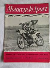 Motorcycle Sport MCS February 72 : Kawaski S2 : Aermacci 350 : Commando Racer