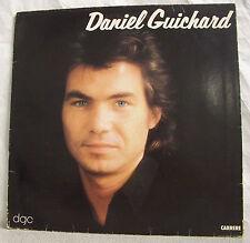 "33T Daniel GUICHARD Disque LP 12"" DGC Album 1980 - kuklos CARRERE 67376"